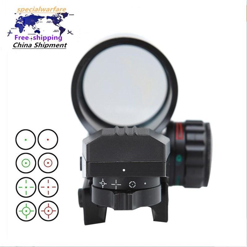 Tactical 4 Tipo Reflex Reflex Red Green Dot Sight