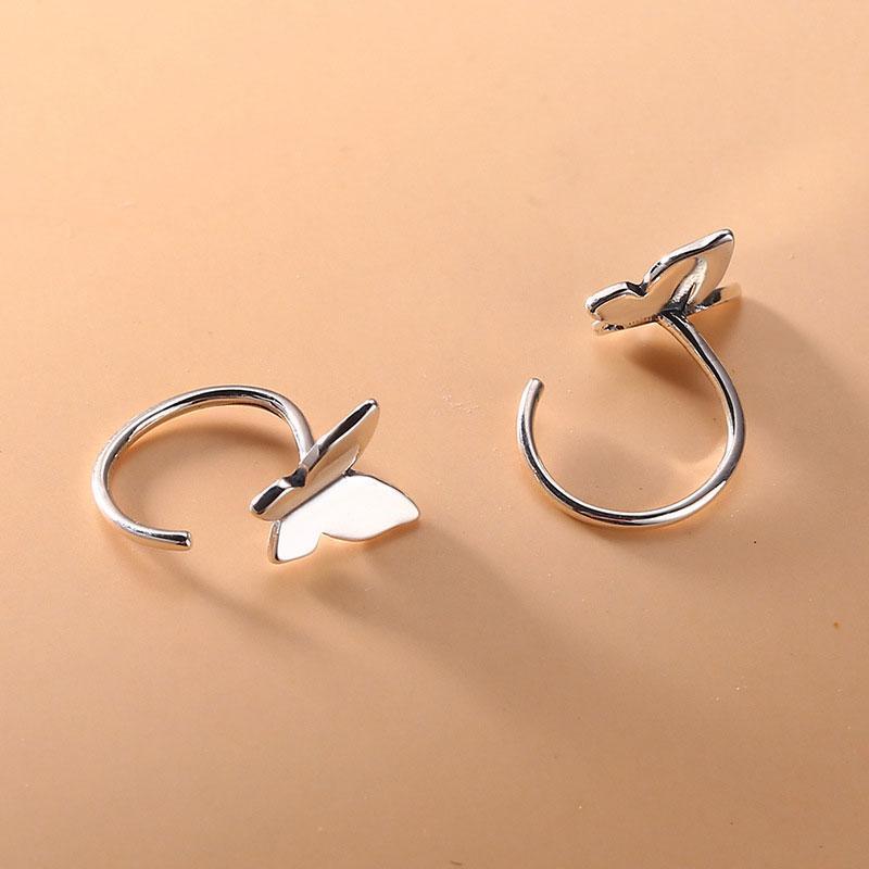 Aifenao 100% 925 argento sterling carino piccolo orecchini a bottone a farfalla per le donne gioielli gioielli ragazza bambini accessori regalo BRINCOS