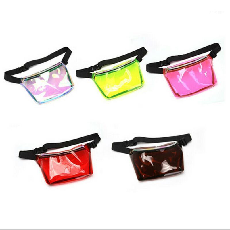 Nuevo bolso de cintura para hombre Paquete de cinturón de moda Color sólido Mujer Bolso de pecho Unisex Fanny Señoras Paquete de cintura Bolsos Bolsos Pulso Punto de teléfono1