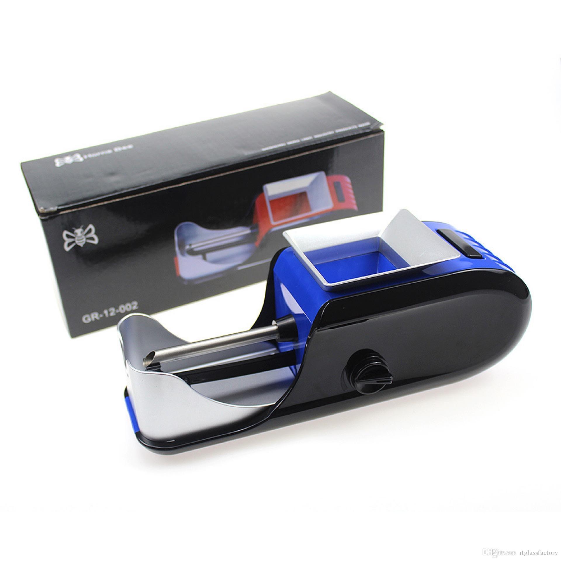 새로운 자동 전기 담배 인젝터 롤링 기계 담배 제조 업체 롤러 그라인더 분쇄기 드라이 허브 기화기 액세서리