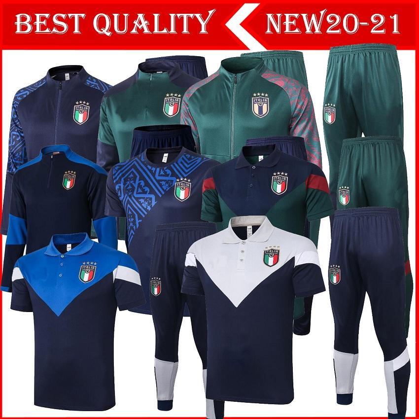 Top 2020 2021 Italien Europäischer Europäischer Ausbildung Anzug 20 21 Italienische Trainingsanzug Insignente Verratti Marchisio Ghiellini Chandaljacke Trainingsanzug