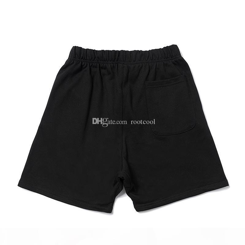 Miedo a Dios Essentials FOG Brand Designer Top Calidad Hombres Pantalones de playa cortos Tamaño S-XL 551