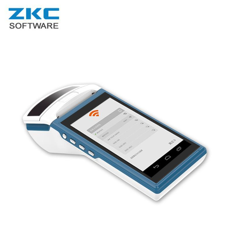 Printers ZKC5501 3G WiFi Bluetooth Android Handheld Computer All In One Smart Restaurant Fast Point Of Sale Cash Register Systems