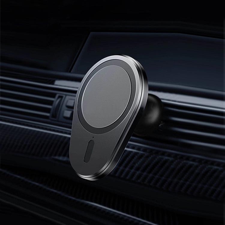 마그네틱 자동차 무선 충전기 마그네틱 자동차 마운트 패스트 무선 magsafing 자동차 충전기 아이폰 12 프로 최대 미니