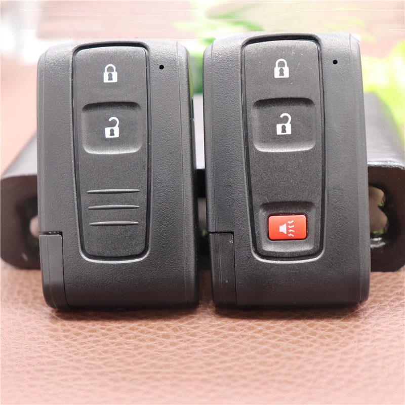 2/3 кнопки удаленный умный автомобиль ключ чехол для Toyota Prius Corolla Verso Toy43 Uncut Blade