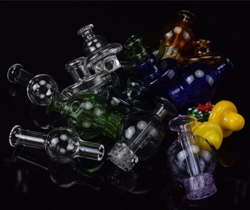 Casquettes en verre de bouchon de glucides pour 20mm 25mm 30mm 30mm de quartz de quartz plateau plateau de quartz de quartz de quartz de quartz de quartz