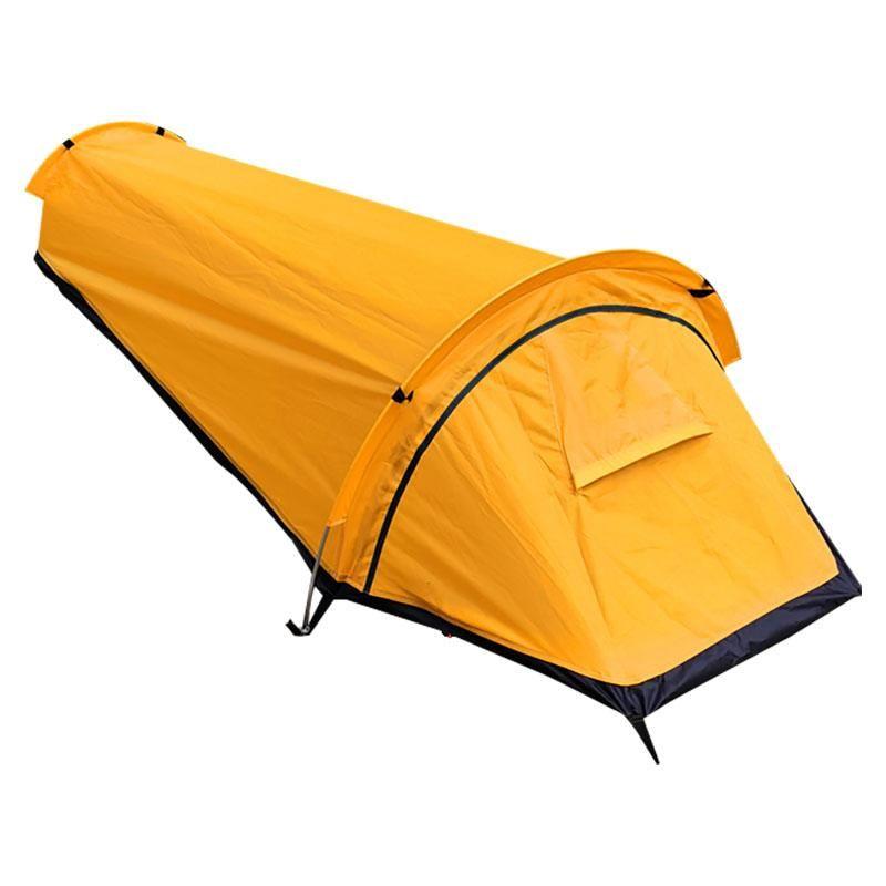 New-Ultralight Bivvy Zelt Einzelne Person Rucksack Bivy Zelt Wasserdichte Bivvy Sack für Outdoor Camping Survival Travel