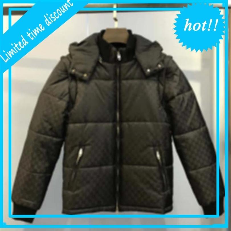 Adam Tasarımcılar Giysi Ceketler Paris Mektup Baskı Pamuk Beyzbol Casual Kışlık Mont Erkek Ceket Yeşil 05