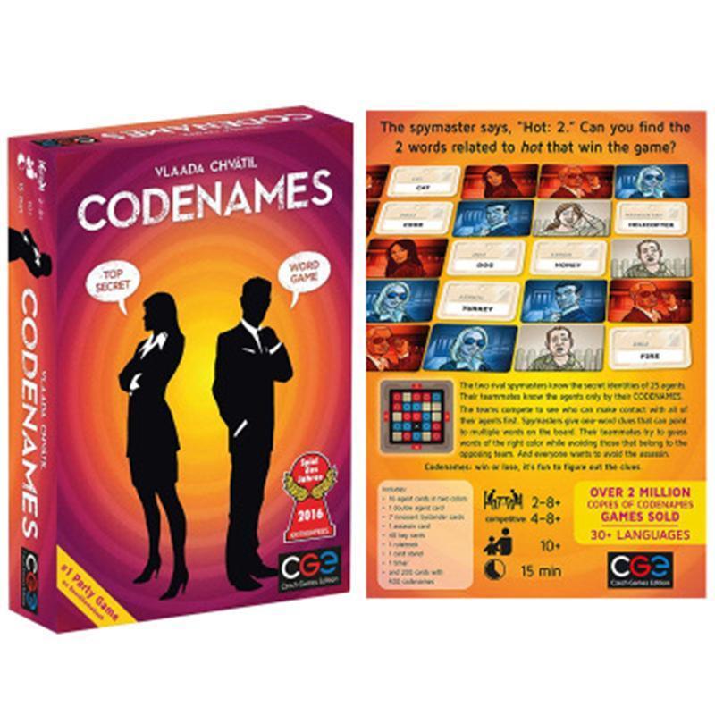 2021 Ceco e giochi CodeNames Codice d'azione Confidential Code Code esplosiva Board Game card Chess Toys card Puzzle gioco Spot