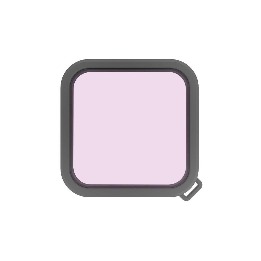 PULUZ quadratisches Gehäuse Tauchen Farbe Objektiv-Filter für Insta360 ONE R 4K Edition 1 Zoll Ausgabe