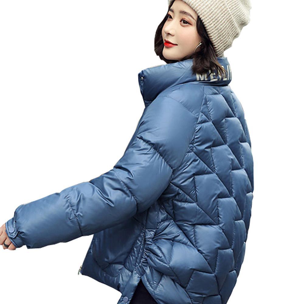 Down parka big collar women parka winter jacket woman Loose female students bread suit coat DOWN jacket 921 201211