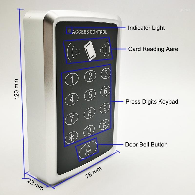RFID 125KHz veya 13.56 MHz Proximity Kart RFID Erişim Kontrol Sistemi EM Tuş Takımı Kartı Erişim Kontrol Kimliği Kapı Açacağı1
