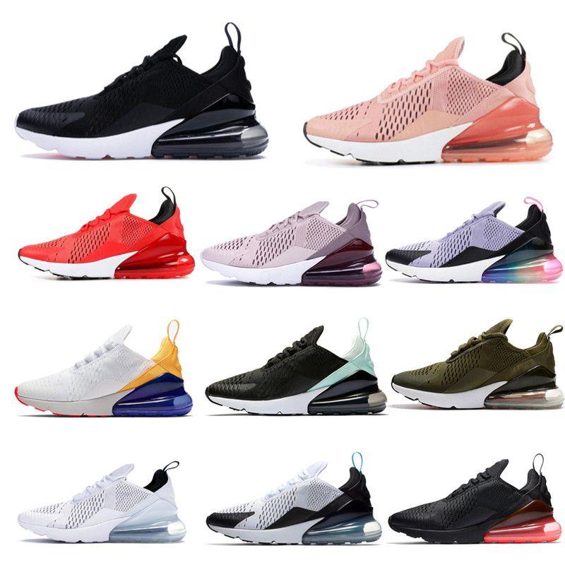 2021 zapatillas para correr Triple Black White Red Mujeres Hombres Chaussures Cred Be True Barely Rose 270s Trainers para hombre Zapatillas deportivas al aire libre