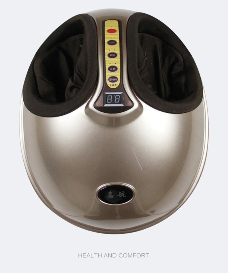 전기 Vibrolegs 발 마사지 Shiatsu 반죽 공기 압력 난방 풋 스파 마사지 케어 머신 적외선 관리