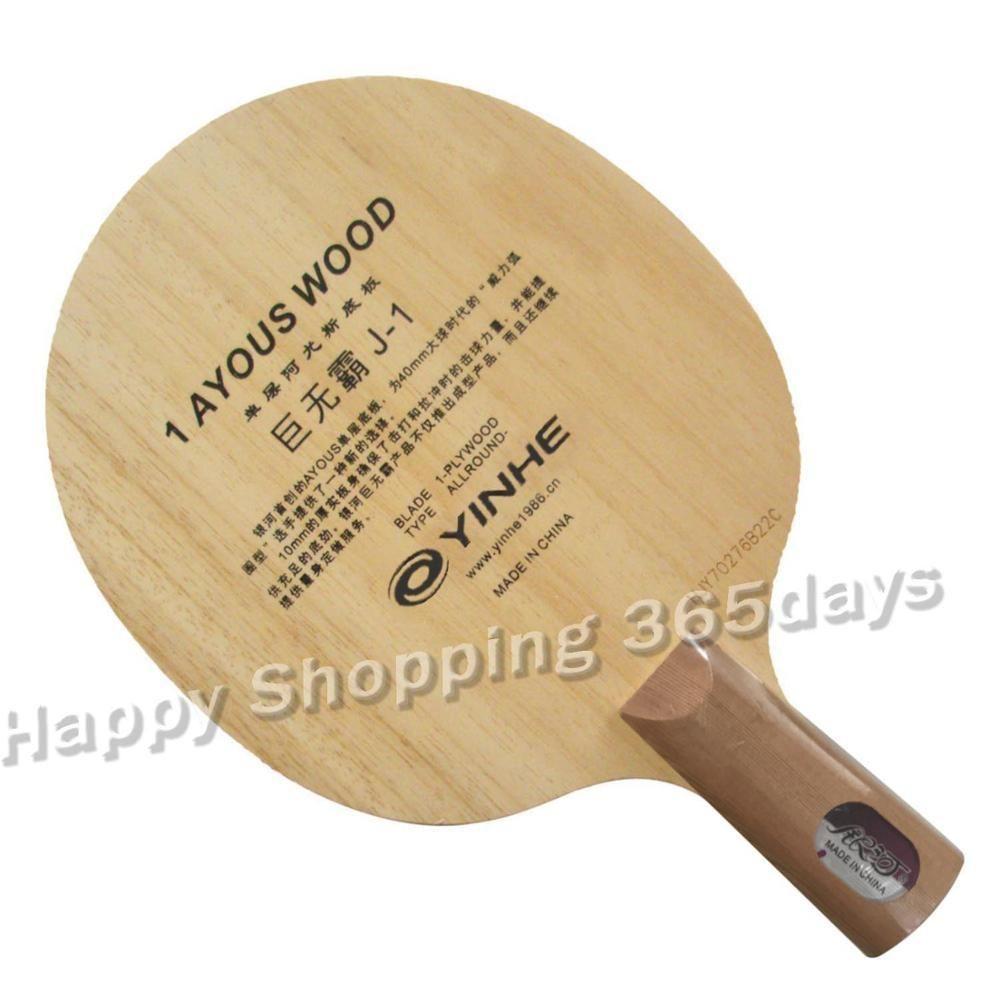 Yinhe Via Láctea Galaxy J-1 J1 J 1 Uma camada Ayous Tennis Tênis Pingpong Blade Z1120