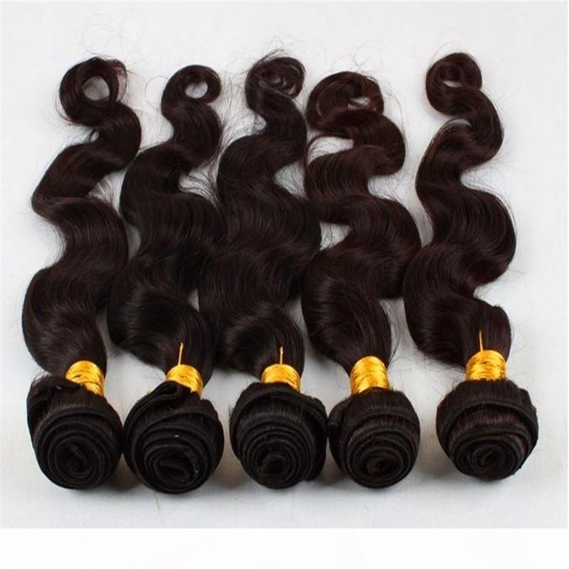 Puer cor corporal onda pacotes remy pacote de cabelo acordo brasileiro cabelo humano 30 40 polegadas pacotes natural cor feixes de cabelo tece