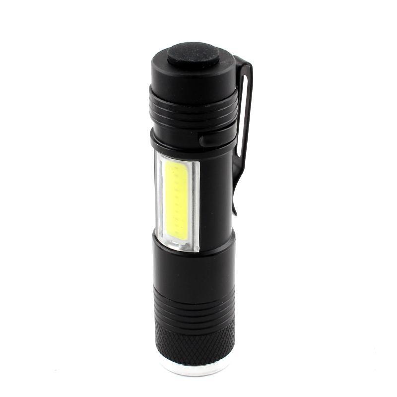 Lanterne Flash Light Torch Cob XPe Ampoules LED 14500 Batterie étanche 300LM Mini lanterne Camping Randonnée