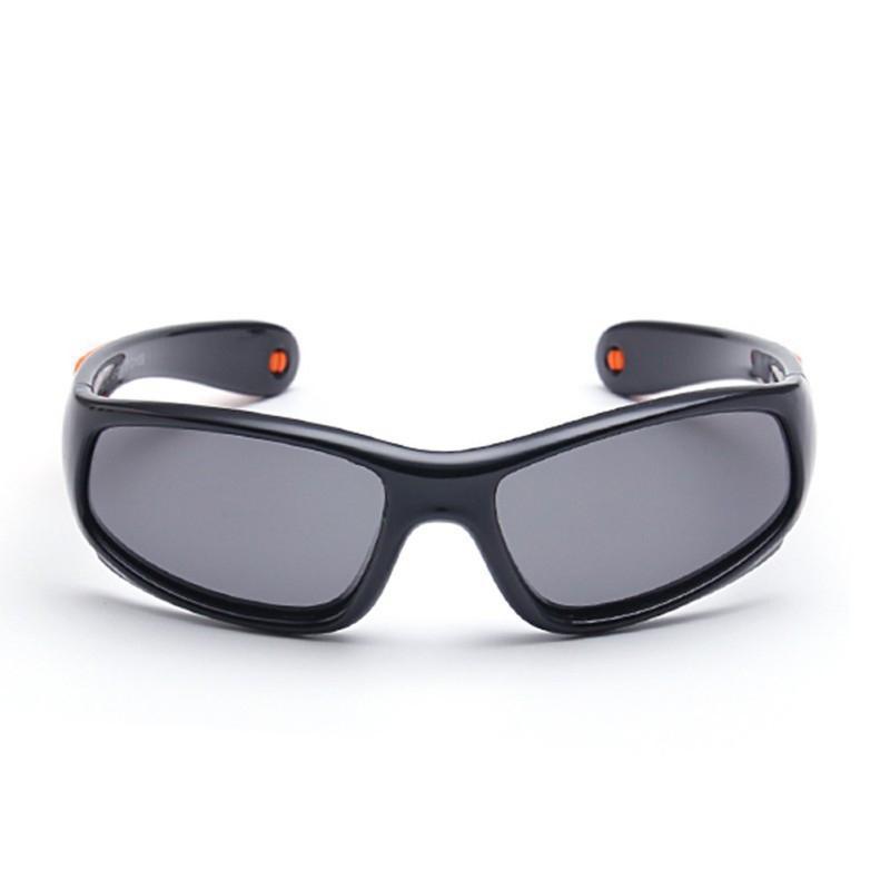 SIL Moda Çocuklar Çerçeve Göz Çocuk Bebek Güneş Gözlüğü Çocuk Güneş Gözlükleri Erkek Kız Renkli Cam Polarize R4