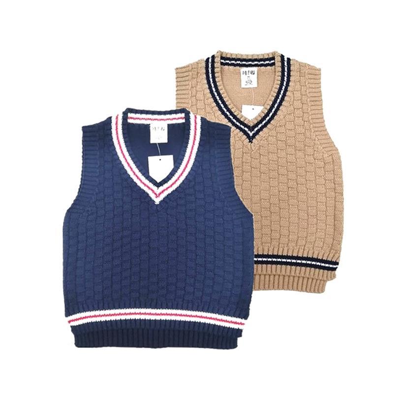 3 a 8 anos Menino do menino v-pescoço veste camisola infantil meninas meninos meninos blusas nova primavera outono algodão bebê roupas tops 201109