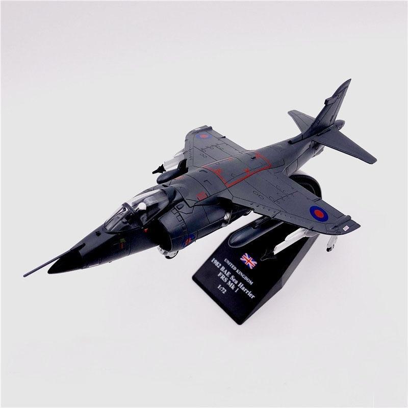 1/72 مقياس 1982 bae sea harrier frs. MK1 مقاتلة العسكرية دييكاست معدنية الطائرة نموذج لعبة للأطفال جمع هدية شحن مجاني Y200428