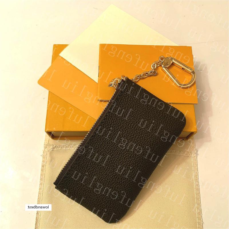 Diseñadores de lujo Mini billeteras Monedero Cartera Bolsa de bolsa Key Mens Handbags Tarjeta de cuero Tarjeta de monedas Mujeres Edax Carteras Monedas Monederos Clutc THKI