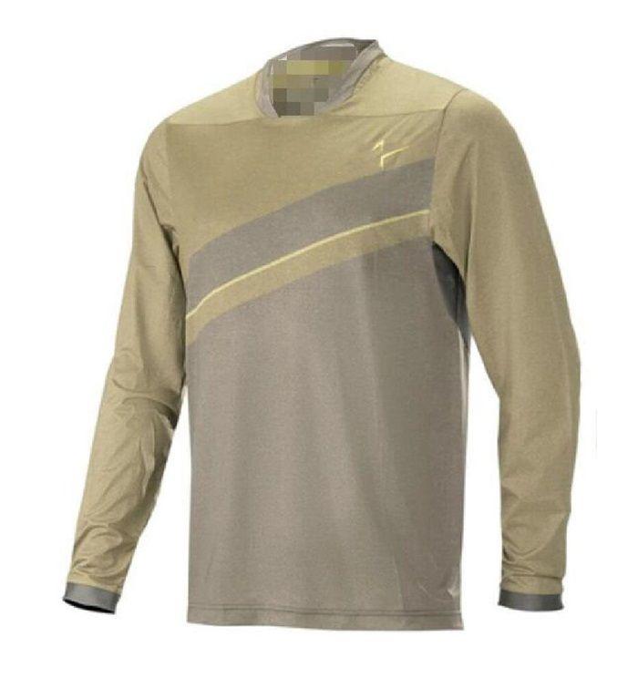 Das neue heiße Verkauf von Motorrad Racing Speed Gipending Langarm T-Shirt Off-Road-Polyester-Schnelltrocknungskleidung kann angepasst werden