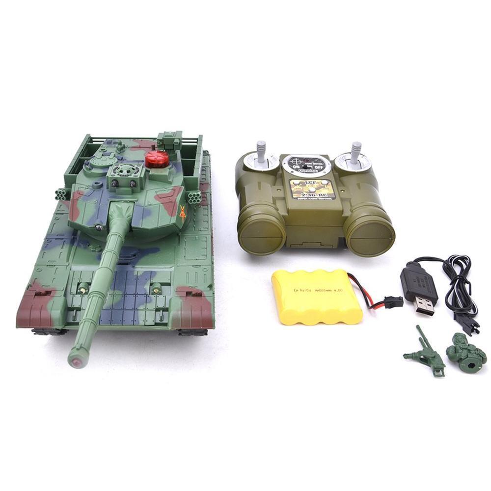 Kinder 778-1 / 2/3/4 Simulation 1:24 RC Battle Panzer Spielzeug Crawler Licht Fernbedienung Schwere Maschinen Tanks Spielzeug für Kinder Geschenk 201208