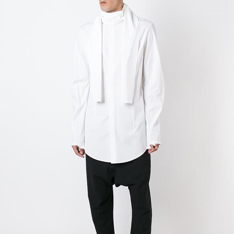 Новая мужская одежда для волос стилист GD оригинальная мода французская рубашка свадебная банкетная платье рубашка плюс размер костюмов1