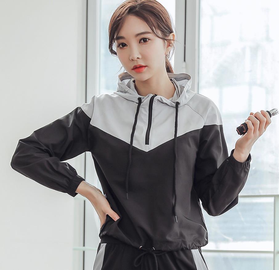Cappotto sportivo da donna Giacca a maniche lunghe Asciugatura rapida Asciugatura Abbigliamento traspirante Sport Sport Fitness Vestiti Abbigliamento sportivo