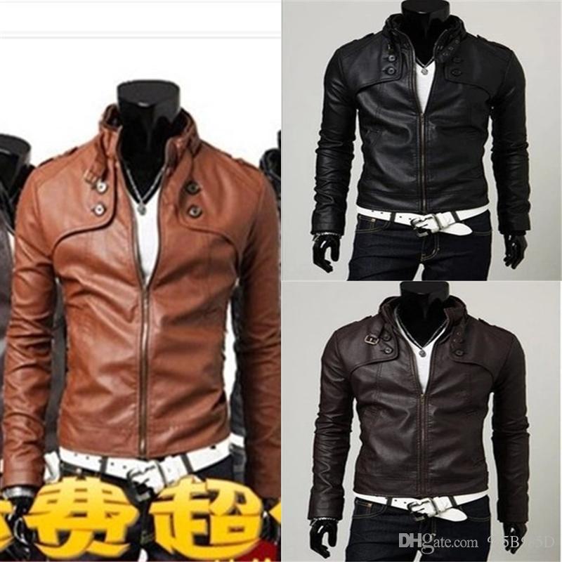 4op mais veludo engrossar jaqueta de couro casaco de couro homens roupas casuais de meia-idade homens e casacos jaqueta masculina designer