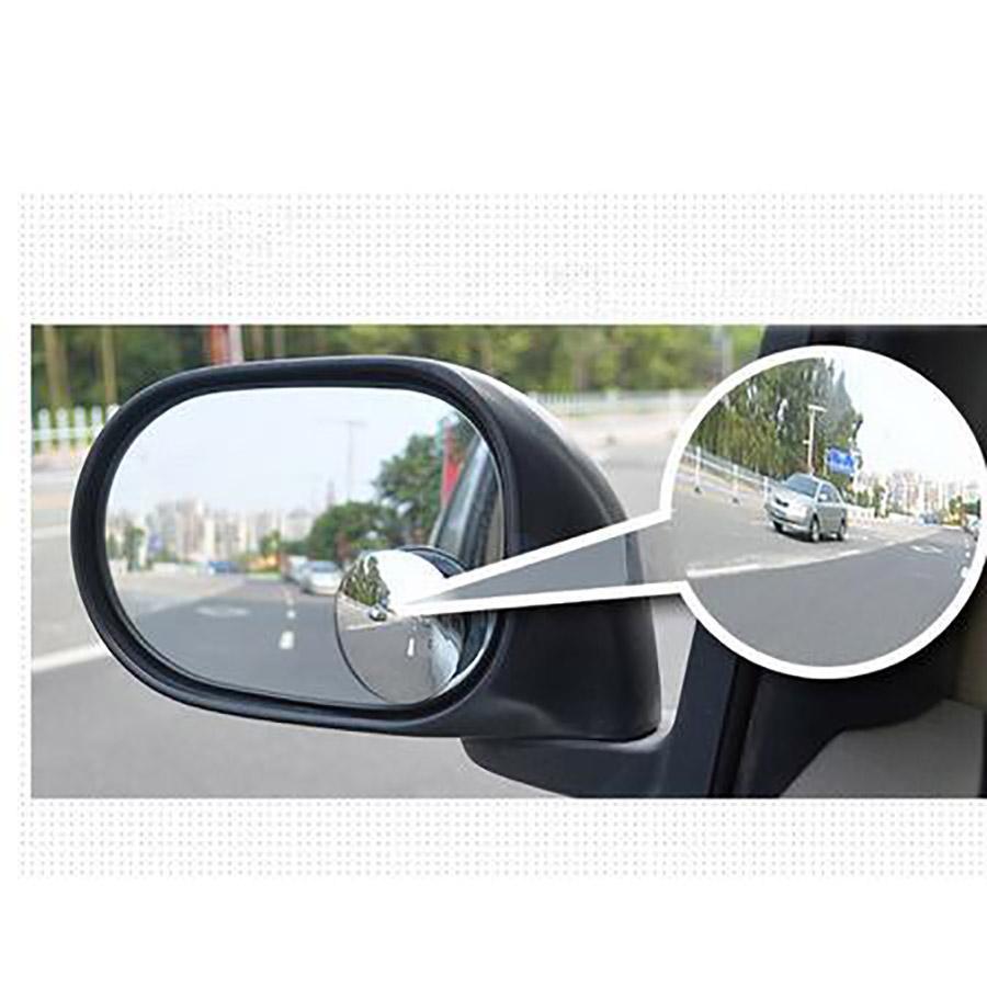 Großhandel 360 Weitwinkel Fensterwinkel Blindfleckspiegel Rückansicht Rückblick Blindspot Auto Seitentür Spiegel Kleiner Rundspiegel für