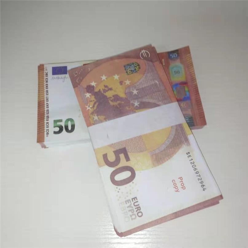 50 евро бумаги реквизит симуляции евро реквизит реквизит фильма бар атмосфера деньги поддельные бумаги деньги игрушки 081
