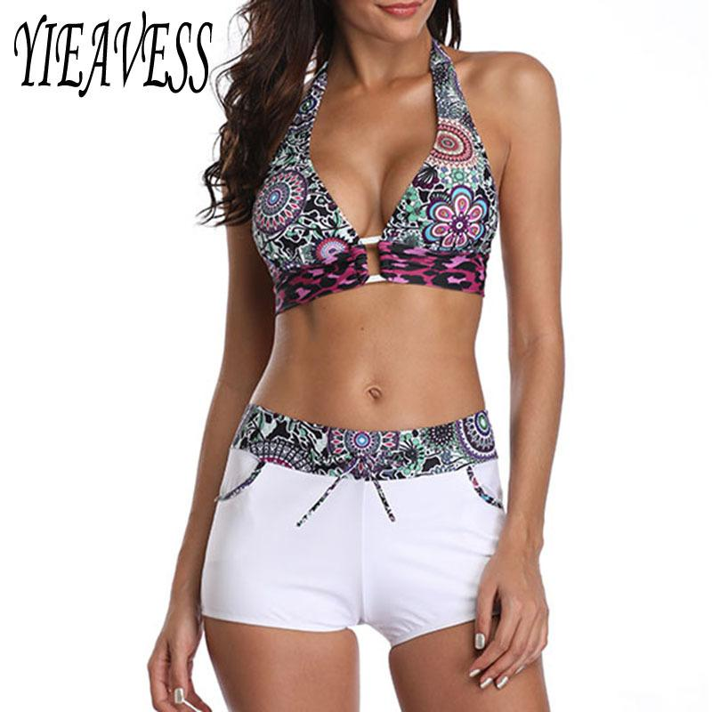 S-5XL Bikini a strisce Set Plus Size Costume da bagno Push Up Swimwear Twist Vestito per le donne Spiaggia da donna Due pezzi Tute da bagno