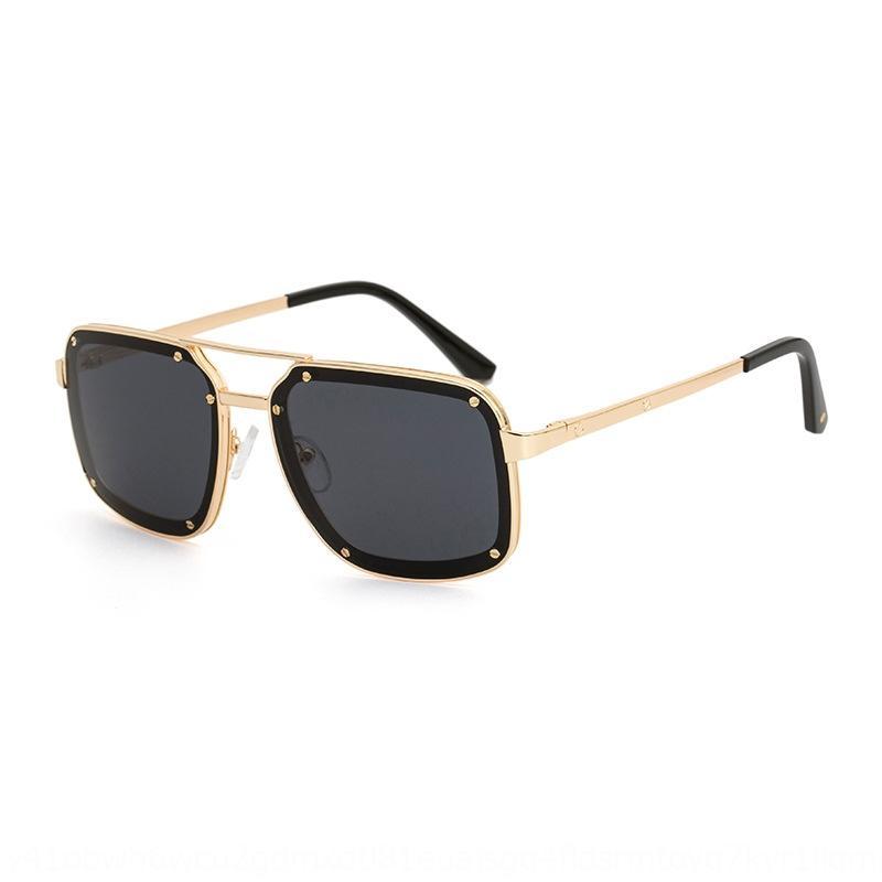 XOLQ per le donne di lusso Cornice 2018 specchio cerchio donna femminile quadrato occhiali da sole da sole occhiali da sole Designer crystal sun occhiali diamante sovradimensionato A ftmc
