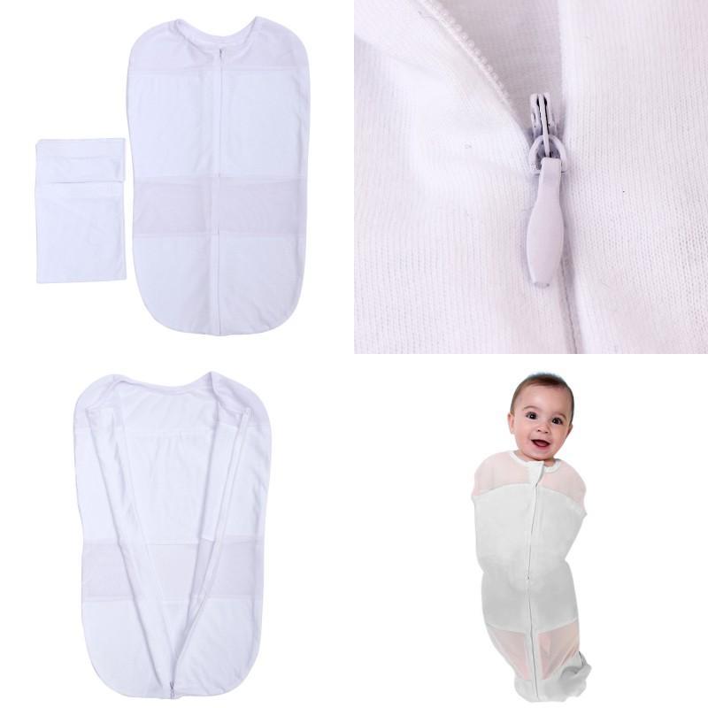 Verão New Born Sleeping Bag 2 pcs Set Magic Stick Gaze Baby Sleep Baby Bolsas Berçário Infantil Berçário Fino Respirável Seguro 20my G2