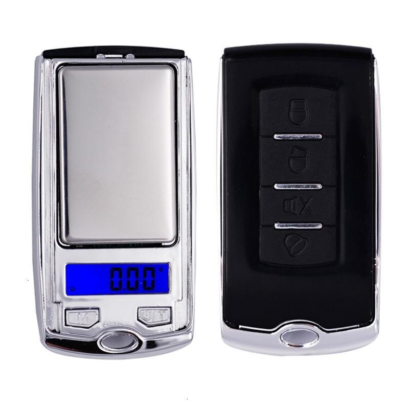 Tasarım 200g x 0.01g Mini Araba Anahtarı Elektronik Dijital Takı Elmas Ölçekli Denge Cep Gram LCD Ekran