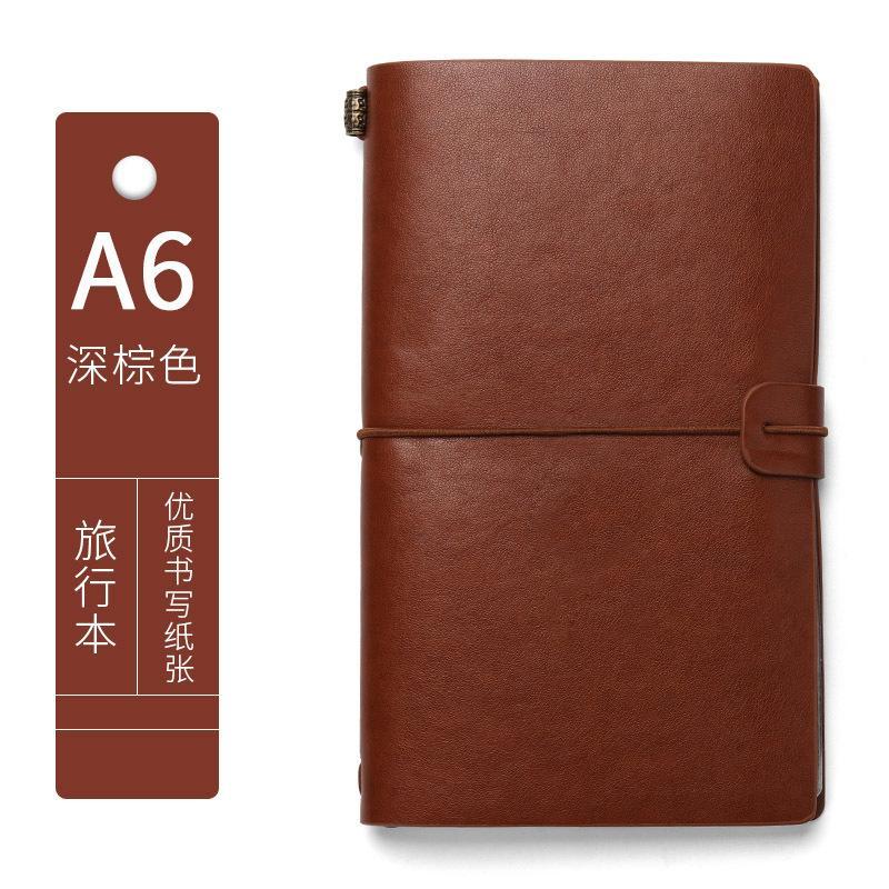 Produttore A6 Student Notebook Notebook Creativo Pelle Business Notebook Notebook Office Personalizzazione del notebook