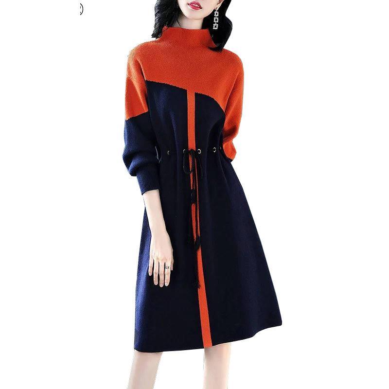 2020 стиль дизайна бренда стильная уличная одежда с длинным рукавом свитер повседневная осенняя женщина ночная рубашка