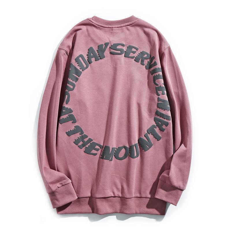 Kanye Maglione Fashion Brand Hip Hop BF Lettera allentata Domenica Sunday Limited Couple Cappotto uomo e donna