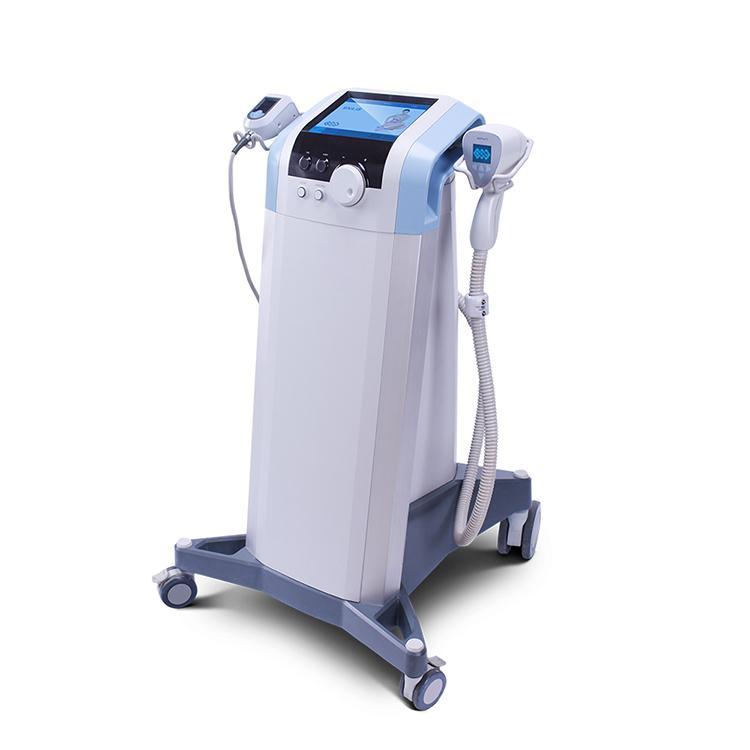 Heißer Verkauf Körperformungskörper Sculpting Body Slimming Machine Fokussierte RF und Ultraschallmaschine zur Cellulite-Behandlung