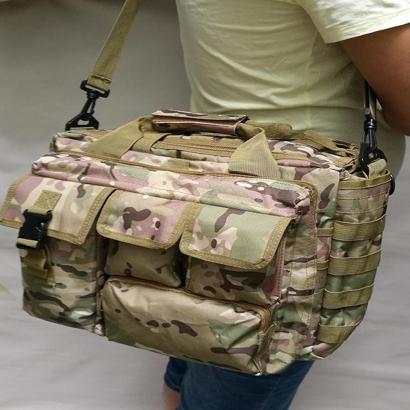 Camouflage Homme Sac Tactical Sling Sac à bandoulière Homme Messenger Extérieur Messenger Etanche
