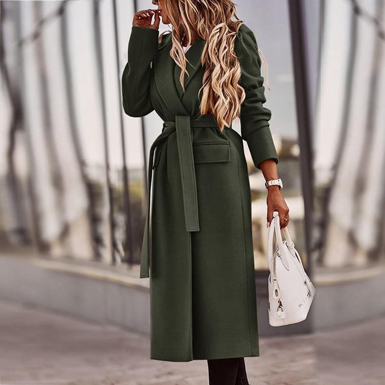 QVGC femme açık havada orta uzunluk aşağı ceket kalın sıcak uzun kalınlaşmak kapüşonlu aşağı fourra ceket ceket palto kadınlar