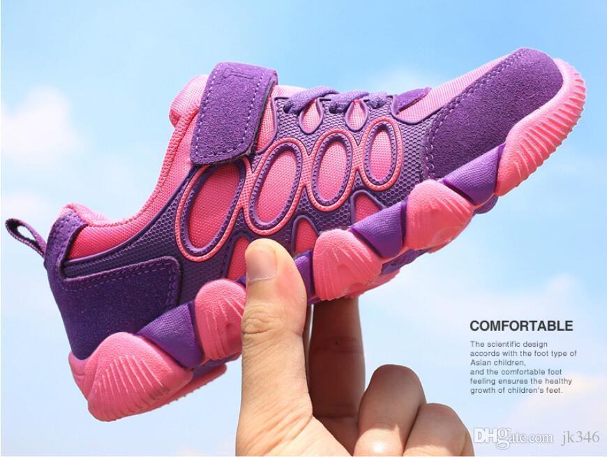 Jeff Sneaker kids Children Fashion Casual Shoes Comfortable Mesh Upper light weight