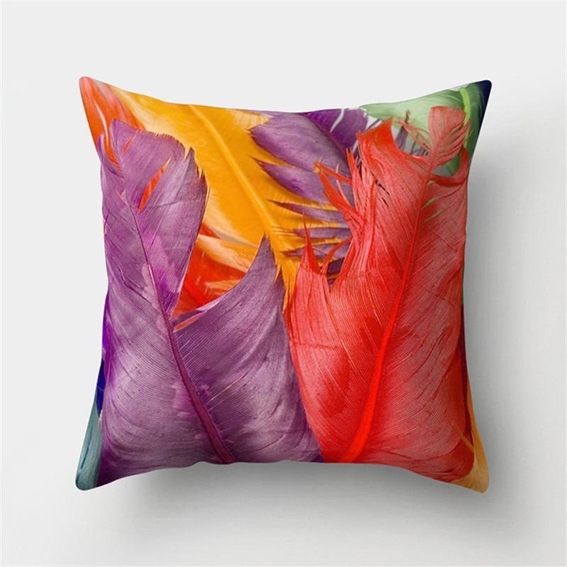 لون أفخم وسادة القضية تزيين المنزل شريط ساحة وسادة غطاء أريكة التبعي الأزياء لينة رمي الوسائد يغطي جديد وصول 4md f2