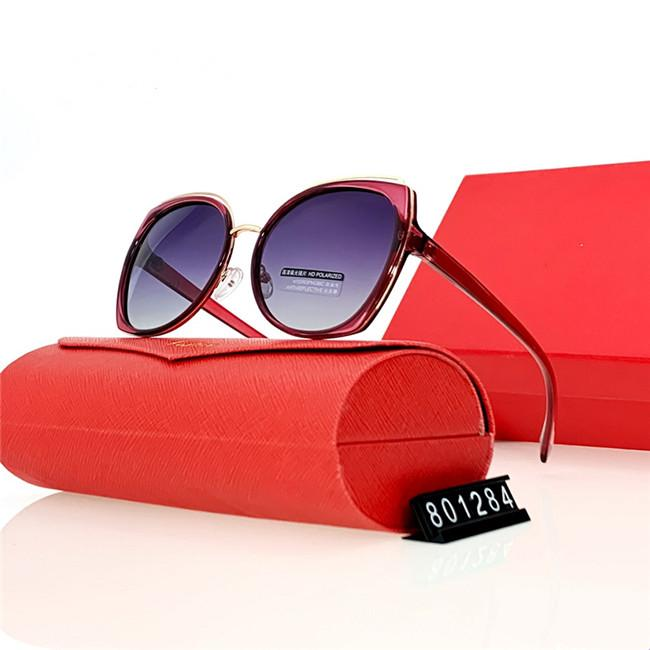 2021 New Popular Women fashion Sunglasses Square Summer Style Full Frame Top Quality UV Protection 5201 sunglasses Mixed Color Come With box