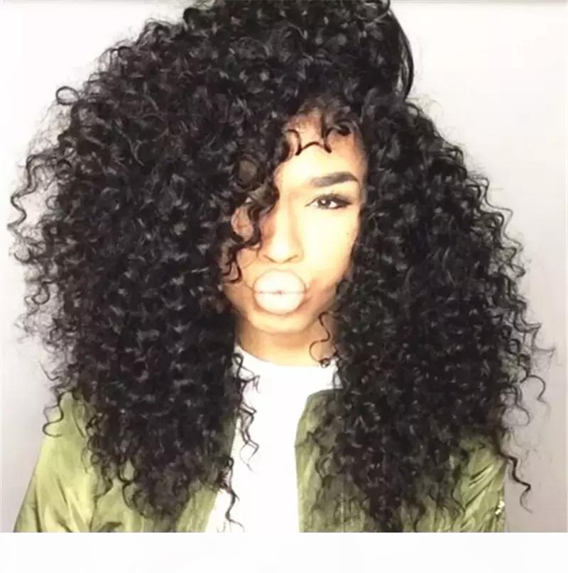 Поддельные кожи головы кудрявые парик короткие бобы человеческие волосы 13x6 фронтальные девственницы перуанские безразличные короткие вьющиеся кружевные фронтские парики для черных женщин детские волосы