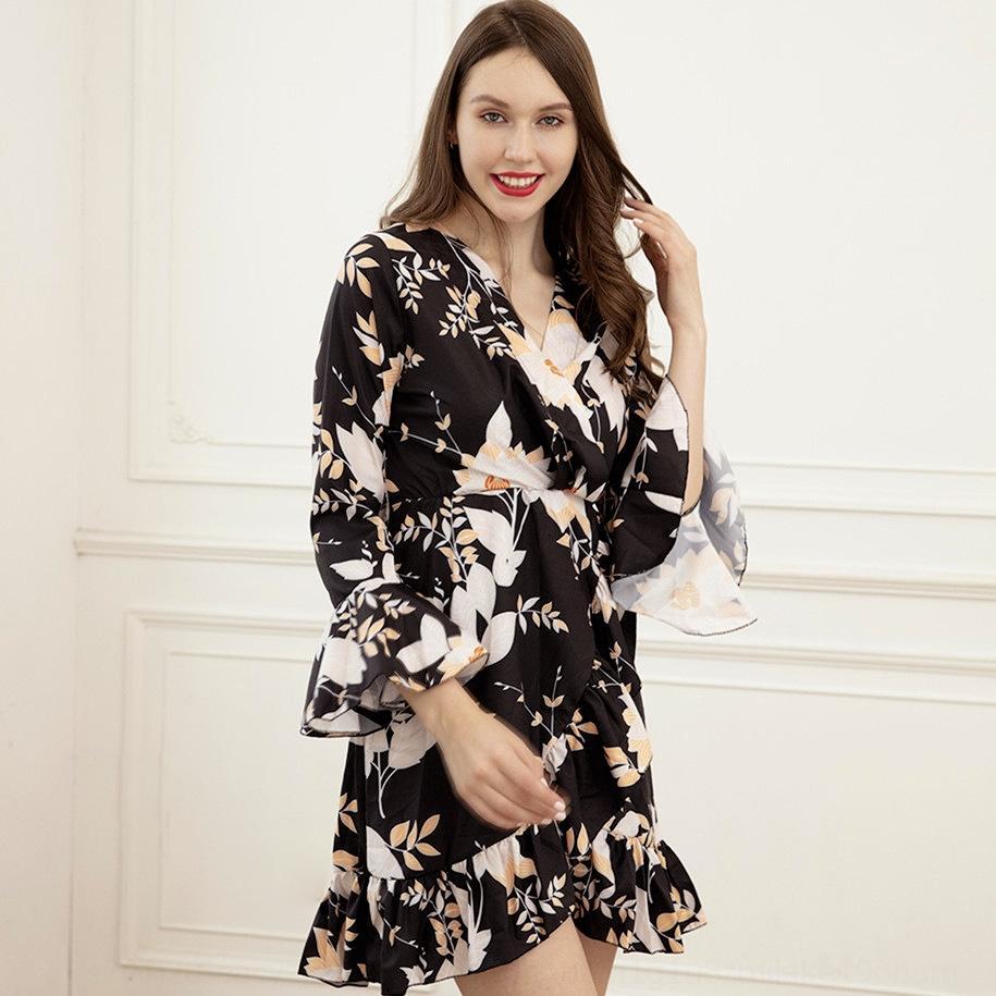 5HTY PLUS Размер женщины Babydoll Женские сексуальные кружева Halter нижнее белье ночная одежда одежда платье чистое ночное платье ночное платье