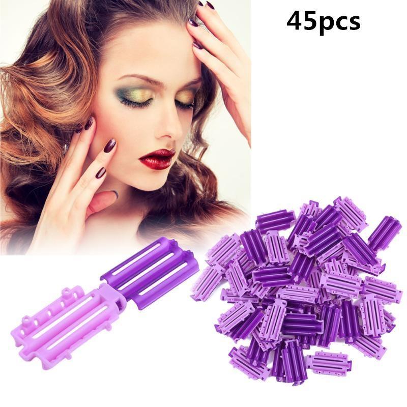 45 teile / sack DIY Flauschige Clip Wave Clip Perm Stick Bar Corn Curler Flauschige Haarwurzel Perm Styling Tool