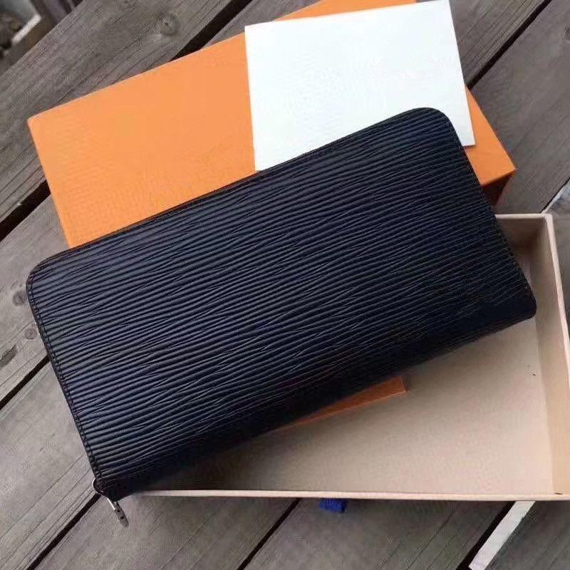 2020 Новая мода роскошь новая вечерняя сумка для монет кошельки тиснение классический сцепление кошелек г-жа дизайнер кошелек г-жа поясница сумка (с коробкой)