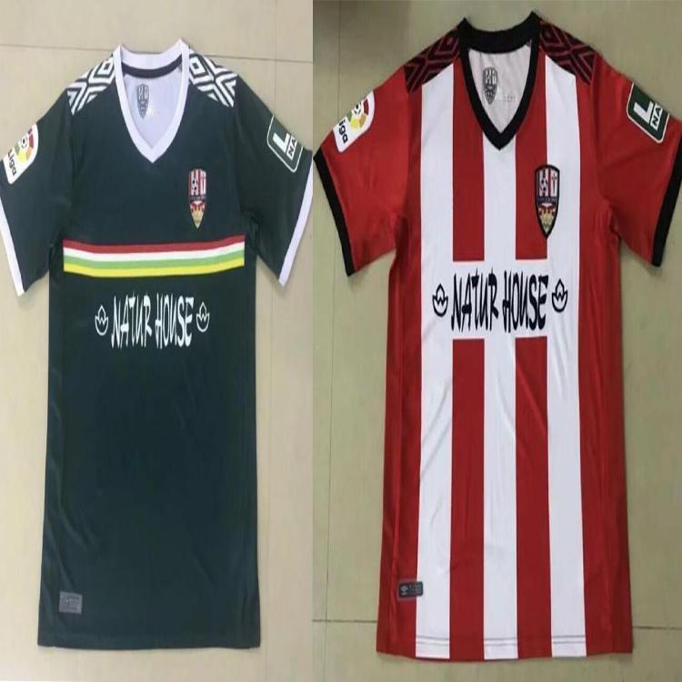 22 Ud Logroñés Futebol Jerseys Andy Inaki errasti Zelu Vitória 2021 Logrones Camisetas Homens de Fútbol Camisas de futebol Tailândia